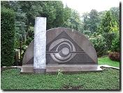 Schumachers Grab auf dem Neuen Friedhof in Kleve
