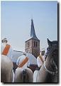 Niederländische Ringreiter I, 2010, Aquarell, 126 x 96 cm
